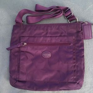 Coach Purple Crossbody